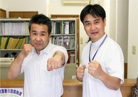 渡嘉敷勝男さんによる取材