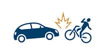 自転車事故の特徴